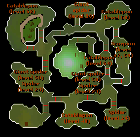 Pit of pestilence plattegrond